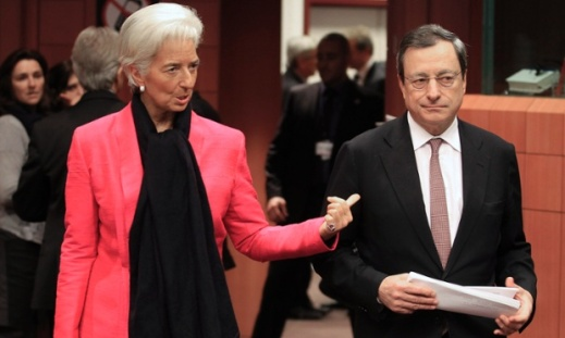 Christine-Lagarde-Mario-Draghi