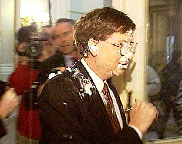 Bill Gates,PieFace,Pieing