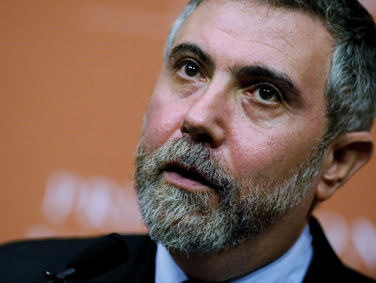"P.Krugman: ""Το ευρώ παγίδευσε την Ελλάδα σε οικονομικό ζουρλομανδύα"""