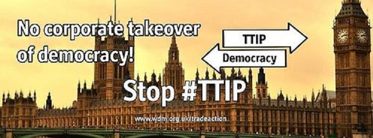 TTIP : Διαδηλώσεις σε πολλές χώρες κατά της Συμφωνίας Ελεύθερου Εμπορίου ΗΠΑ – Ε.Ε.