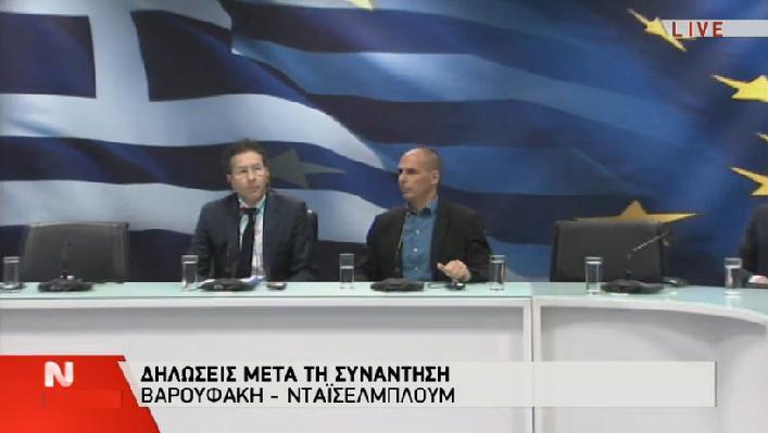 """Η """"ξινιλα"""" του Ντάισελμπλουμ μετά τη σφαλιάρα Βαρουφάκη (βίντεο)  #Grèce #Eurogroup"""