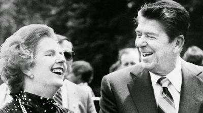 Margaret Thatcher Roland Reygan