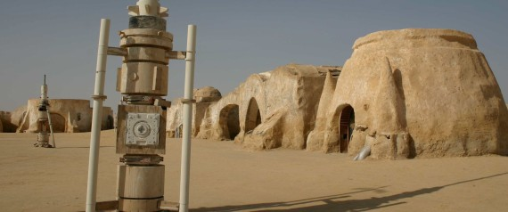 Star Wars movie site, Tunisia