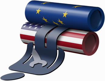 """TTIP: Πολυεθνικές θα μπορούν να μηνύουν ανεξάρτητα (;) Κράτη για """"διαφυγόντα κέρδη""""!  Νεα Τάξη Πραγμάτων #ECB #EZB #FED #NWO"""