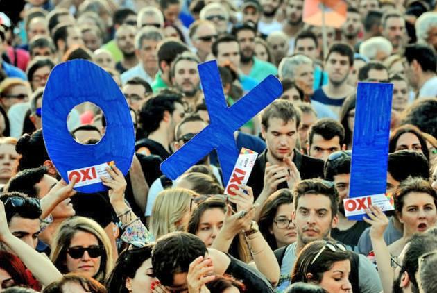 Ανεξάρτητα απο τα «όχι» και τα «ναι» του δημοψηφισματος το μόνο σίγουρο είναι πως πια όλοι με όλους πρέπει να συστηθούμε ξανά | EUROKINISSI/ ΣΤΕΛΙΟΣ ΜΙΣΙΝΑΣ