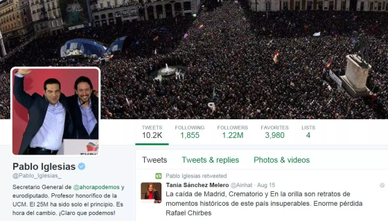 Pablo Iglesias (Podemos): «Οι Έλληνες θα στηρίξουν τον κ. Τσίπρα, γιατί πάλεψε σαν λιοντάρι»