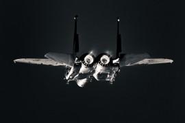 F-15E rear view FOX 3