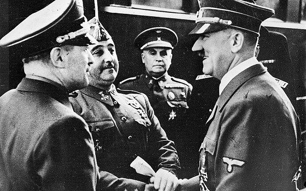 Adolf-Hitler-and-Franko-spanish-civil-war