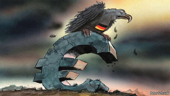 german-occupation-of-europe-DEBUT-FUNDS-VOLTURE-DEUTSCHE-BANK