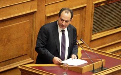 Ο Σπίρτζης διέσυρε τον Μητσοτάκη: Είσαι φερέφωνο του ΔΟΛ!! #menoume_kanalia #vouli