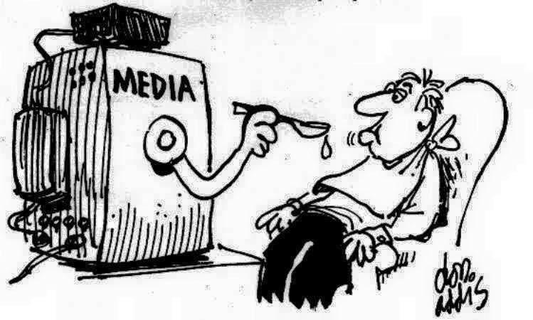 """""""Να μιλησουμε για τις ευθυνες της δημοσιογραφιας στην Κριση"""" του Θ.Δημάδη #menoume_kanalia"""