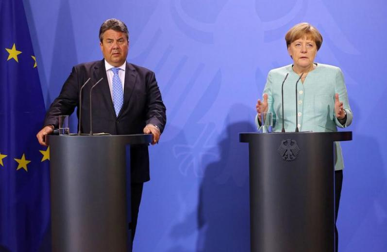Retreat meeting of German cabinet - press conference