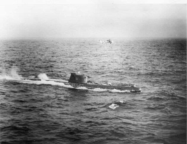 Το ρωσικό υποβρύχιο Β-59 που λίγο έλειψε να πυροδοτήσει πυρηνικούς πυραύλους Το ρωσικό υποβρύχιο Β-59 που λίγο έλειψε να πυροδοτήσει πυρηνικούς πυραύλους  