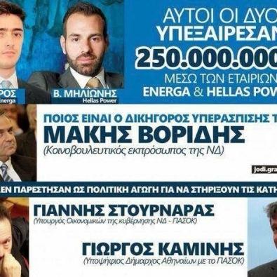 ARIS FLOROS,ENERGA,KYRIAKOS MITSOTAKIS,MAKIS VORIDIS, GRIGORIS DIMITRIADIS,ΑΡΗΣ ΦΛΩΡΟΣ,ΚΥΡΙΑΚΟΣ ΜΗΤΣΟΤΑΚΗΣ,ΕΝΕΡΓΚΑ,ΓΡΗΓΟΡΗΣ ΔΗΜΗΤΡΙΑΔΗΣ