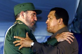 Fidel Castro κι ο Hugo Chávez