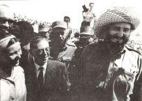 Simone de Beauvoir Jean-Paul Sartre Fidel Castro