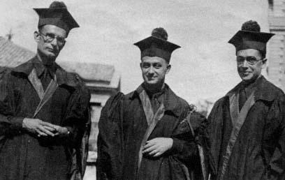 Franco Rasetti, Enrico Fermi ed Emilio Segrè