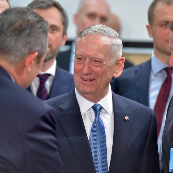 Ο Πάνος Καμμένος με τον James «Mad Dog» Mattis, νέο ΥΠΑΜ των ΗΠΑ Panos Kammenos