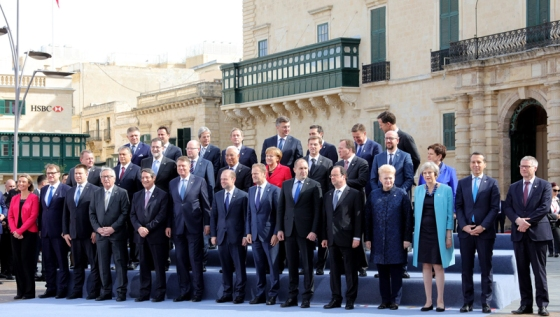 Informal summit of EU leaders in Valletta