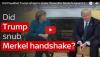 Γιατί ο Τράμπ δεν έκανε χειραψία με τον Μερκελ στο Οβαλ Γραφείο;(βίντεο)