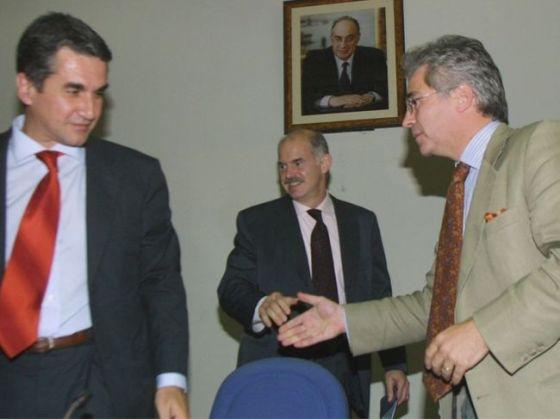 Ανδρεας Λοβέρδος - Γιώργος Παπανδρέου