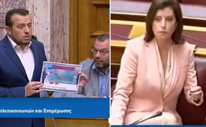 """Ν.Παππας στην Αννα-Μισέλ """"Αν το Υπουργείο ασχοληθεί με όλα τα #FAKEnews του Μητσοτάκη, δεν θα προλαβαίνει τίποτα άλλο"""" (ΒΙΝΤΕΟ)"""
