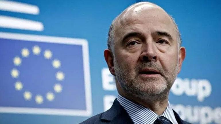 ΣΦΑΛΙΑΡΑ από τον Ευρωπαίο επίτροπο Οικονομικών Πιέρ Μοσκοβισί στον αντιευρωπαίο ακροδεξίο Κυριάκο Μητσοτάκη