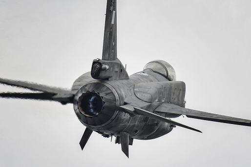 Greek F-16C block 52+ rear view FOX 3