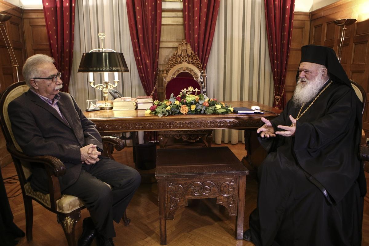 Συνάντηση Ιερώνυμου-Γαβρόγλου για την εκκλησιαστική περιουσία (ΒΙΝΤΕΟ)