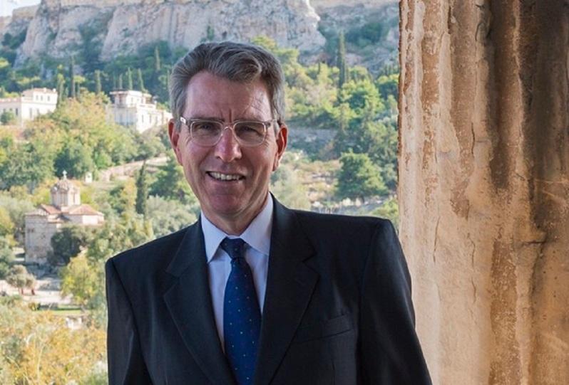 Νέα ηχηρή παρέμβαση υπέρ της Ελλάδας από τον πρέσβη G. Pyatt