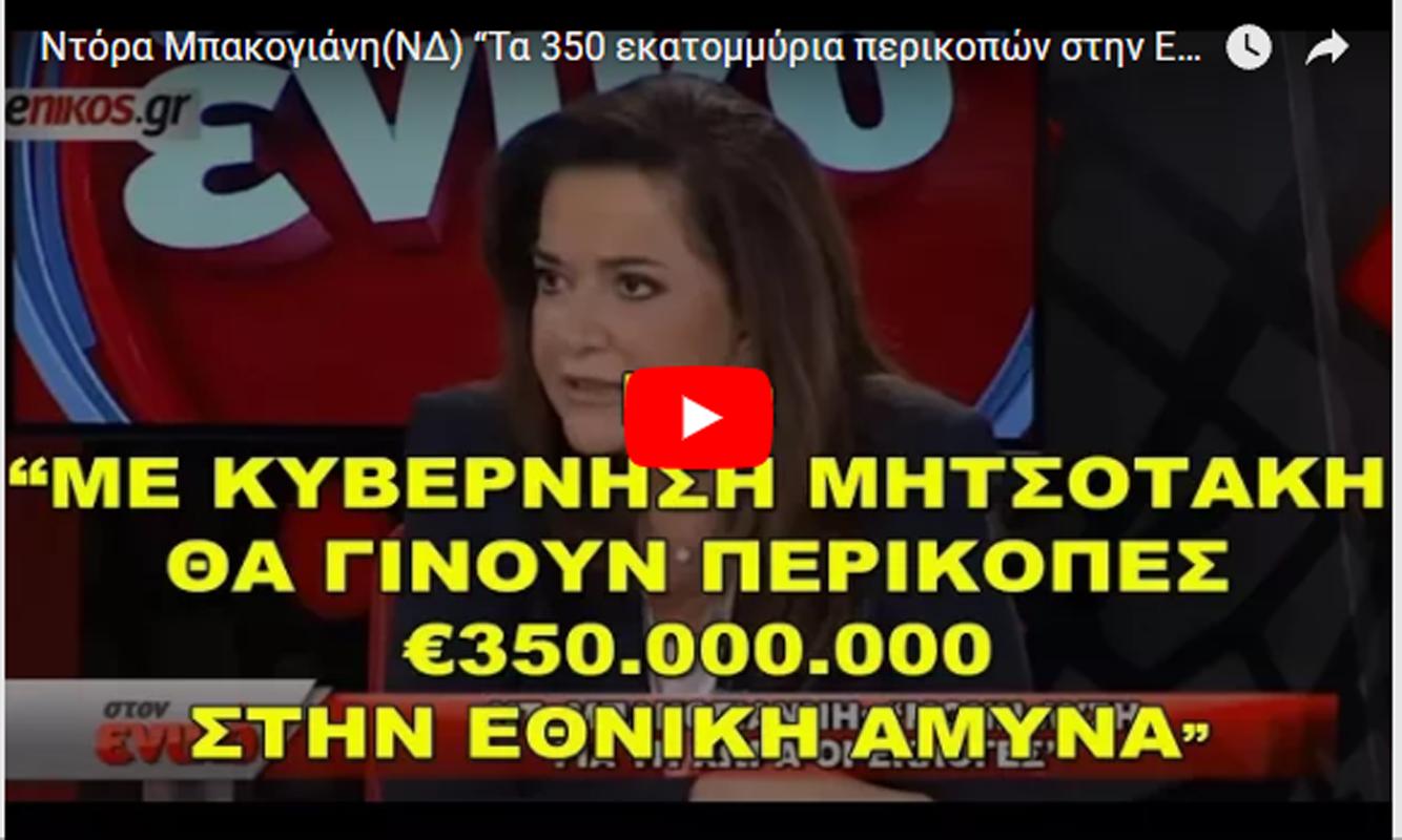 ΝΔ: «Με πρωθυπουργό τον Κυριάκο Μητσοτάκη θα γίνουν περικοπές €350εκ στην Εθνική Άμυνα (αντί εκσυγχρονισμός F-16)»
