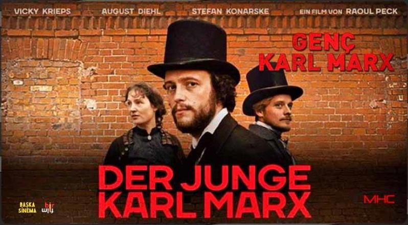 August Diehl (Karl Marx) και ο Stefan Konarske (Engels) στην ταινία «Ο νεαρός Καρολος Μαρξ» – Le jeune Karl Marx (2017)