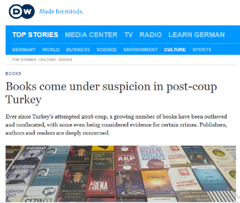Book censorship in Turkey including Althusser, Spinoza and Camus