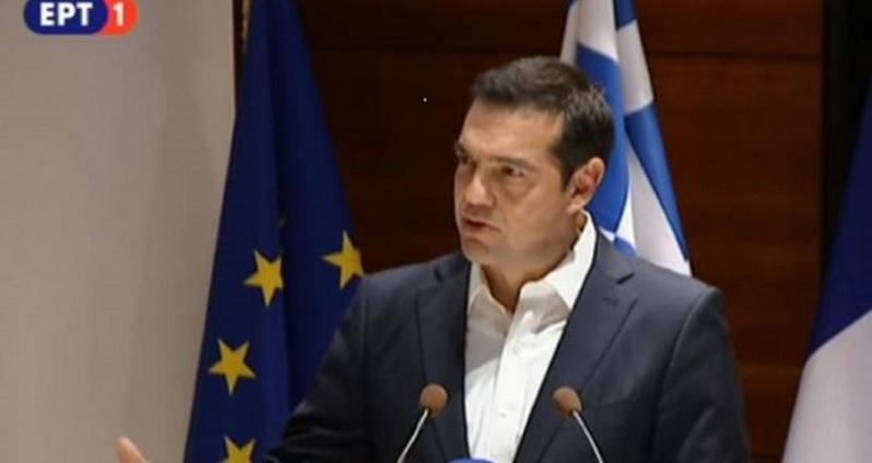 Η βράβευση του πρωθυπουργού από τον Δικηγορικό Σύλλογο Παρισίου με το Βραβείο Προσήλωσης στο Ευρωπαϊκό Ιδεώδες (Prix de l'Engagement européen).