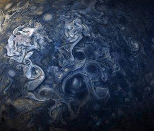 Τα σύννεφα του Δία, όπως τα είδε το Juno - Οκτώβριος