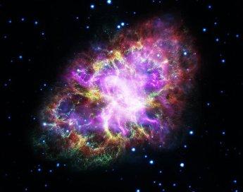 Εικόνα του Νεφελώματος του Καρκίνου, 6.500 έτη φωτός μακριά, δημιουργημένη από δεδομένα πέντε τηλεσκοπίων - Μάιος