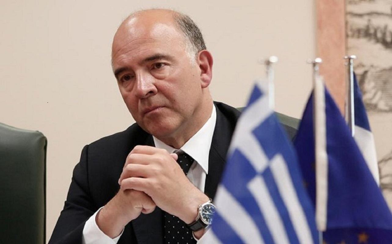 Moscovici :«Μετά από 10 χρόνια, η μέρα που θα τελειώσει το πρόγραμμα θα είναι θετικό σημάδι»