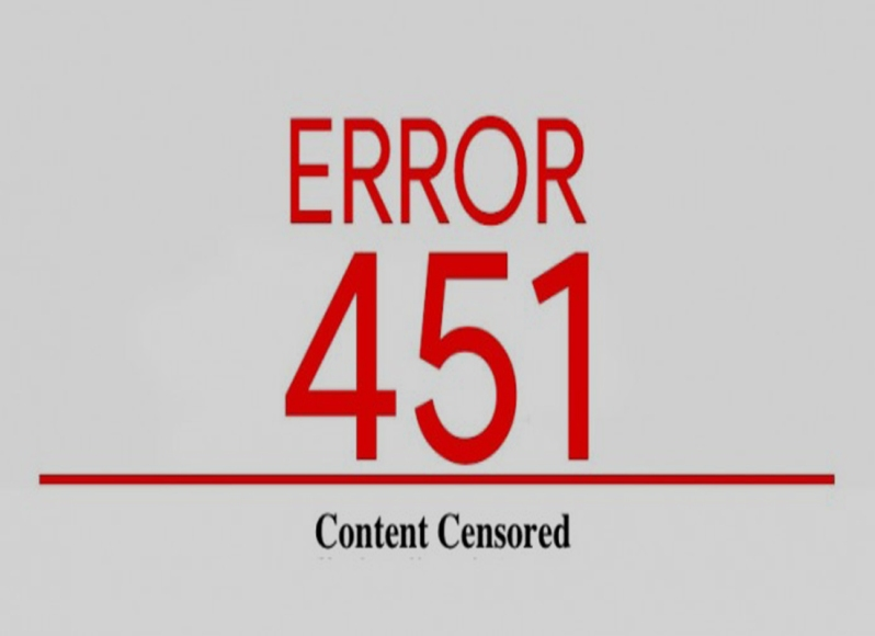 censored ΛΟΓΟΚΡΙΣΙΑ ΠΡΟΠΑΓΑΝΔΑ ERROR 451 ΧΟΥΝΤΑ ΜΜΕ