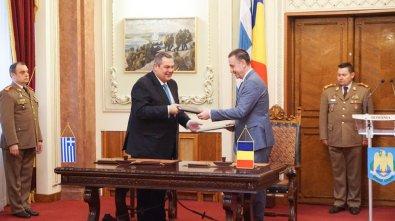 Υπογραφή Συμφώνου Αμυντικής Συνεργασίας μεταξύ Ελλάδος & Ρουμανίας 2