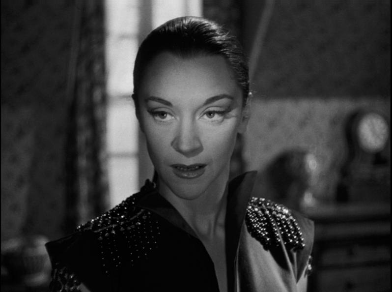 Maria Casares as Death in Jean Cocteau's Orphée (1950)