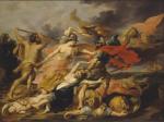 Victor Wolfvoet II - Hercules and Minerva Expelling Mars