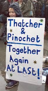 Margaret Thatcher death party - Trafalgar Square, London, 13 April 2013