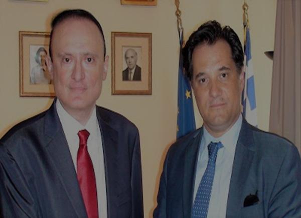 Ο Πρόεδρος του Αλεξάνδρειου ΤΕΙ Θεσσαλονίκης, κ. Κωνσταντίνος Βαρσαμίδης, συναντήθηκε στις 18-5-2016 στην Αθήνα με τον Αντιπρόεδρο της Νέας Δημοκρατίας κ. Άδωνι Γεωργιάδη