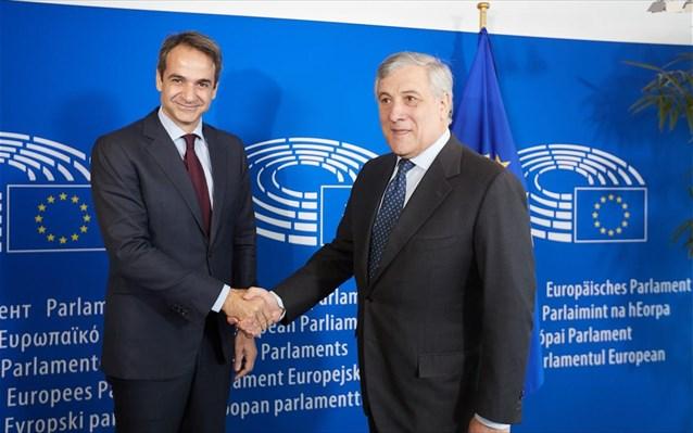 Ο Ταγιάνι που υπερήφανος ζήτησε να συναντήσει ο Κούλης, λέει τα Σκόπια ως Μακεδονια, εδώ και χρόνια