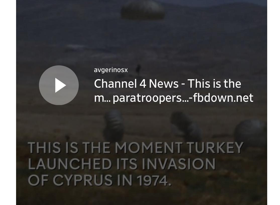 ΚΥΠΡΟΣ 1974-ΣΥΓΚΛΟΝΙΣΤΚΟ σπάνιο βίντεο από την στιγμή της εισβολής των Τούρκων αλεξιπτωτιστών στην Κύπρο δημοσίευσε το Channel 4 – 20 Ιουλίου 1974