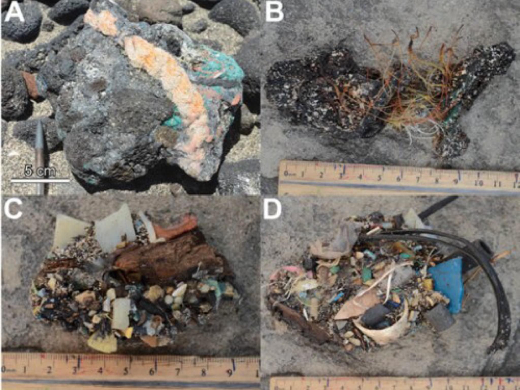 Στο μέλλον τα απολιθώματα θα είναι από..πλαστικό-Ανακάλυψαν νέο είδος πέτρας το Plastiglomerate