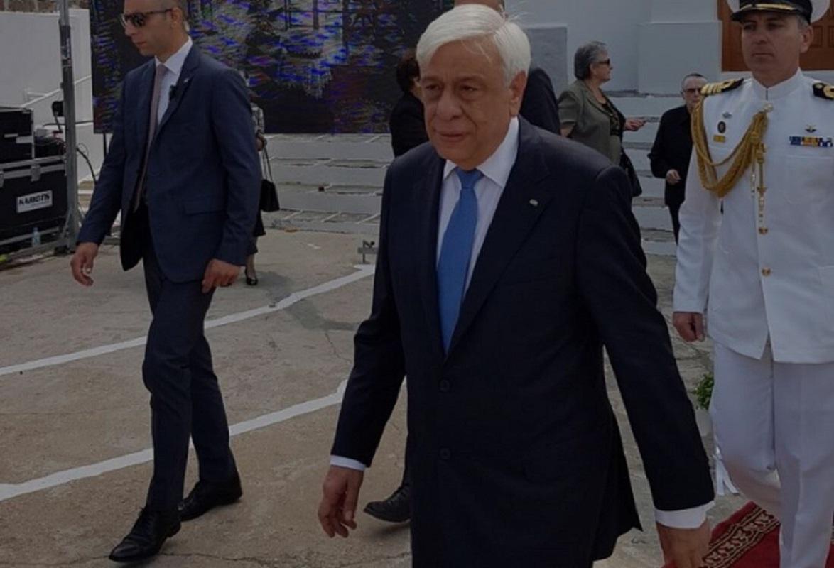 Ο ΠτΔ Προκόπης Παυλόπουλος θεματαφύλακας της υπεράσπισης των εθνικών μας δικαίων