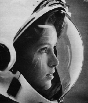 Anna Fisher, astronaut, on the cover of Life magazine, 1985.
