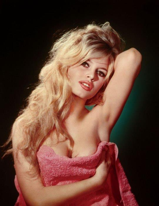 Brigitte Bardot in her Sex-Kitten