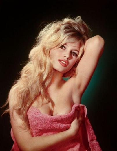 Brigitte Bardot in her Sex-Kitten